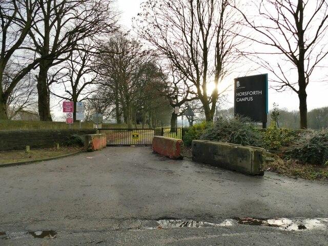Former Leeds City College campus - entrance