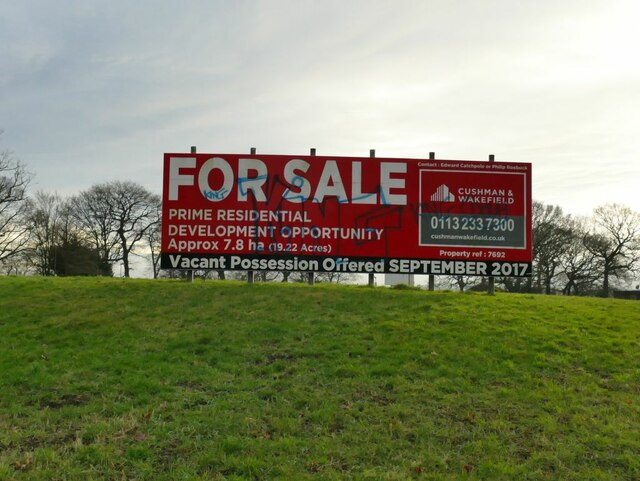 Former Leeds City College campus - For Sale sign