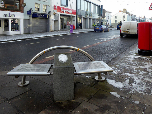 A damp seat, Omagh
