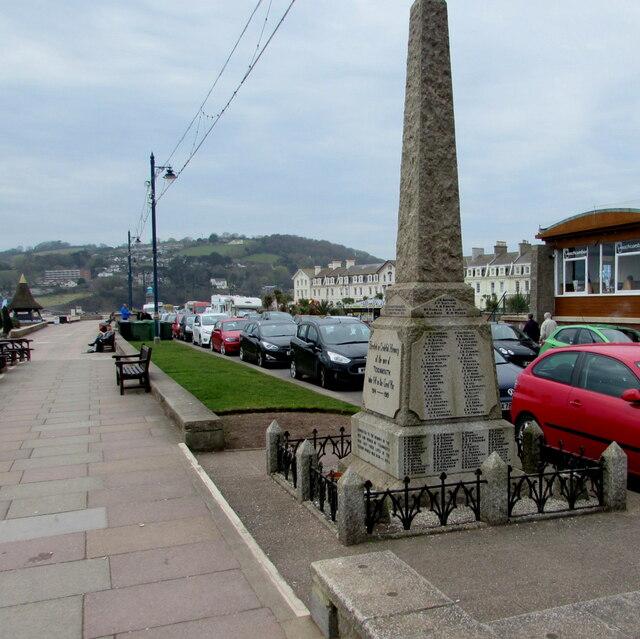 Teignmouth War Memorial