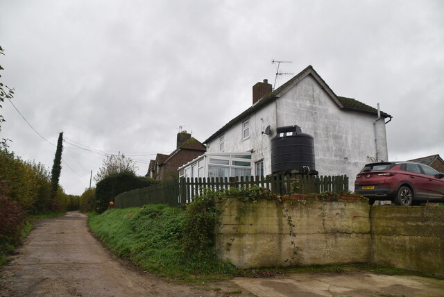 Little Bayhall Cottages by N Chadwick