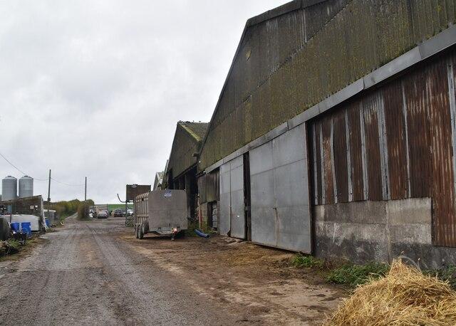 Barn, Little Bayhall Farm by N Chadwick