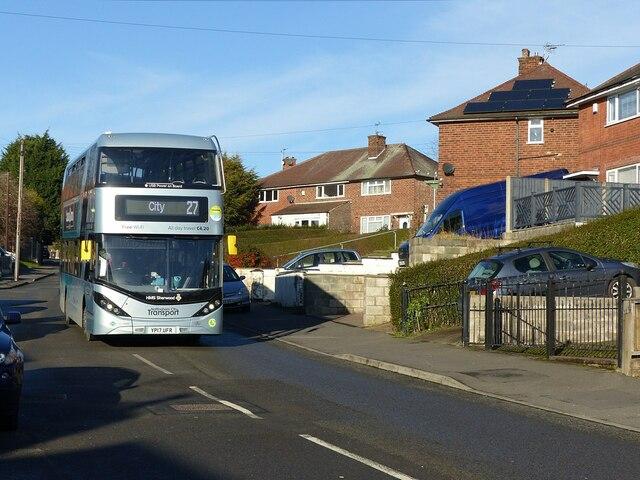 27 bus to City