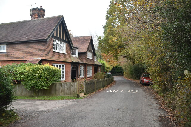 Blackhurst Cottages by N Chadwick