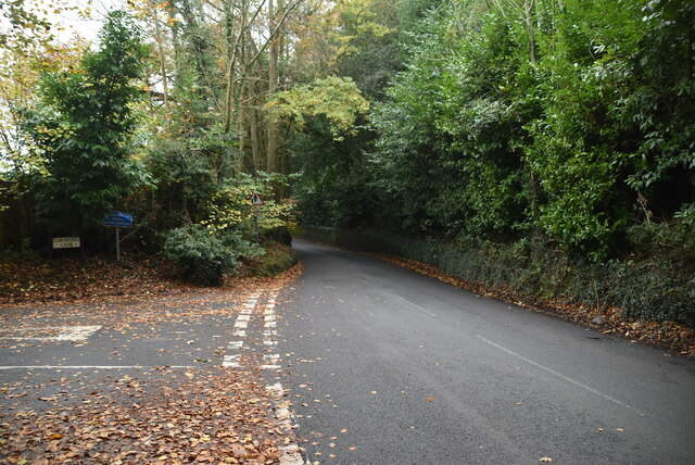Cornford Lane, Hall's Hole Lane junction