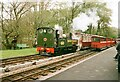 SS6846 : Old & new coaches at Woody Bay, Lynton & Barnstaple Railway by Martin Tester
