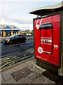 ST3090 : Zero Sugar advert on a Malpas Road bus shelter, Newport by Jaggery