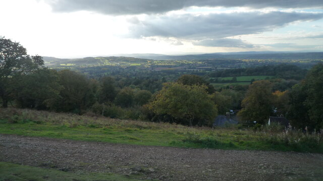 Countryside from Perseverance Hill