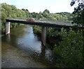 SO7165 : B4203 road bridge crossing the River Teme at Stanford Bridge by Mat Fascione