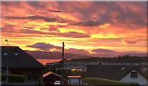 NS2072 : Kip Marina sunset by Alison Nugent