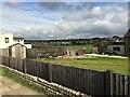 TV4898 : Rugby pitch, Seaford Head School by Robin Stott