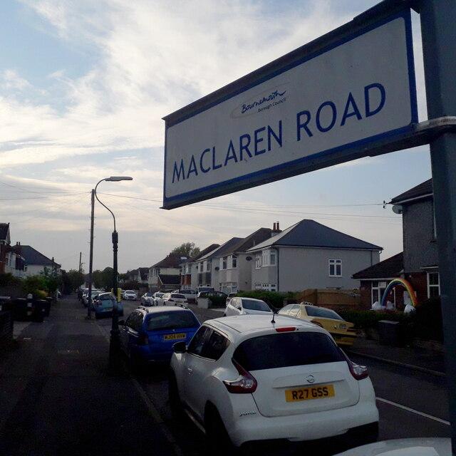 Moordown: Maclaren Road