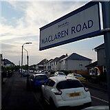 SZ0895 : Moordown: Maclaren Road by Chris Downer