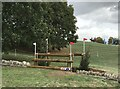 SP4415 : Cross-country fence 11B/9 at Blenheim Horse Trials by Jonathan Hutchins