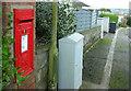 SX9167 : Postbox, Seymour Drive by Derek Harper