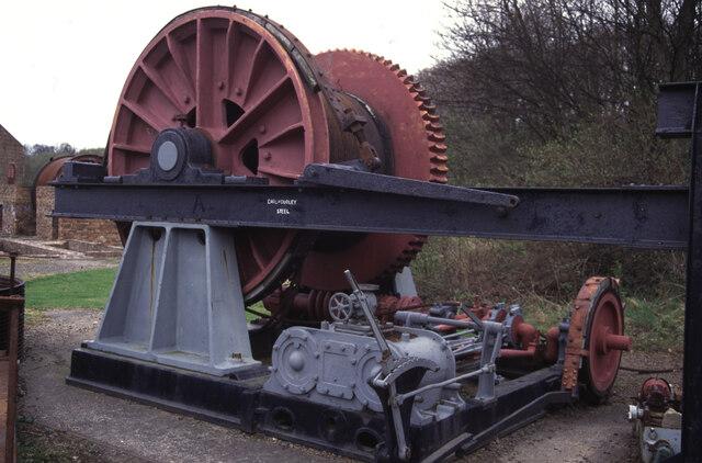 Prestongrange Museum - steam capstan