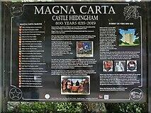 TL7835 : Castle Hedingham features [1] by Michael Dibb