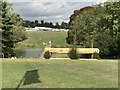 SP4415 : Cross-country fence 20/17 at Blenheim Horse Trials by Jonathan Hutchins