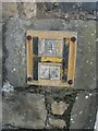 SH5772 : Hydrant marker on College Road, Bangor by Meirion