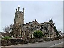 ST5445 : Church of St Cuthbert, Wells by Jonathan Hutchins