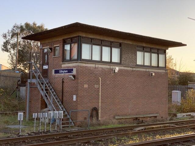 Gillingham signal box