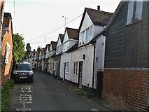 TL7835 : Castle Hedingham houses [35] by Michael Dibb