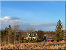 NG4745 : House at the end of the Craigleadh track by John Allan