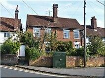 TL7835 : Castle Hedingham houses [43] by Michael Dibb