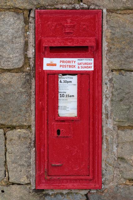 Victorian Postbox, Stainburn