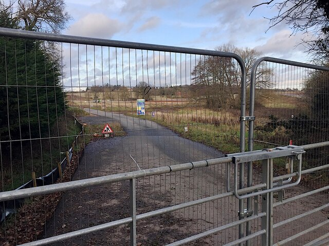 HS2 works at Crackley, January 2021 (1)