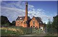 SK3410 : Former pumping station, Snarestone by Chris Allen