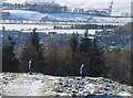 NT3337 : Descending Pirn Hill, Innerleithen by Jim Barton