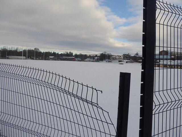 Snow, Campsie Playing Fields, Omagh