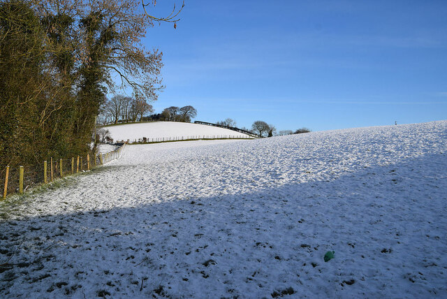 Snow covered slopes, Fireagh