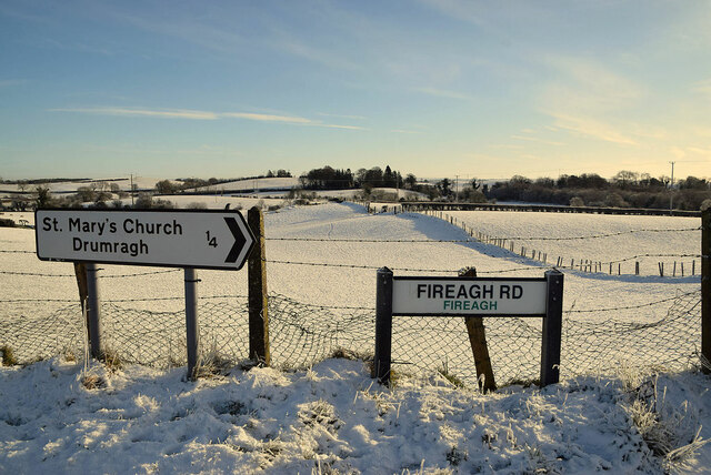 Direction signs, Fireagh