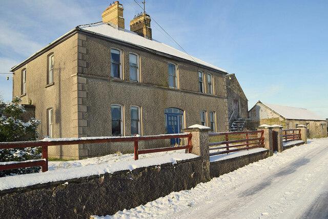 Vacant farmhouse, Fireagh