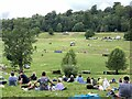 ST8799 : Spectators at the cross-country course, Gatcombe by Jonathan Hutchins