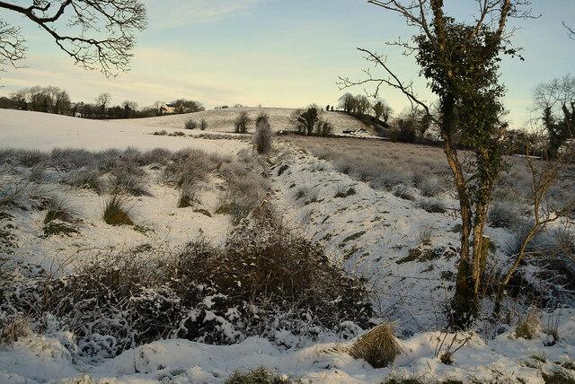 Hidden drain, Mullaghmore