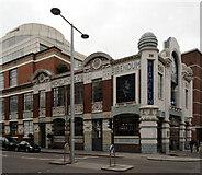 TQ2778 : Michelin House seen from Sloane Avenue, Chelsea by habiloid