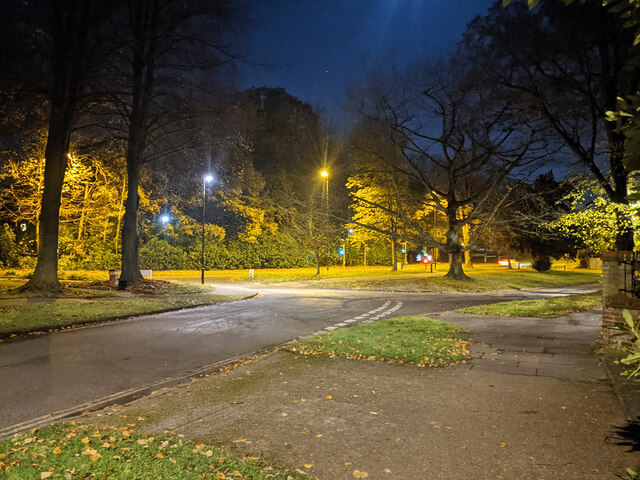 Milton Mount Avenue, Pound Hill, Crawley by Robin Webster