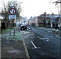 ST3188 : Evans Street traffic calming, Newport by Jaggery