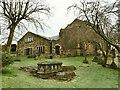 SE2040 : St John's church, Yeadon - west end by Stephen Craven