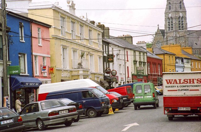 Main Street, Clifden, County Galway - May 1994
