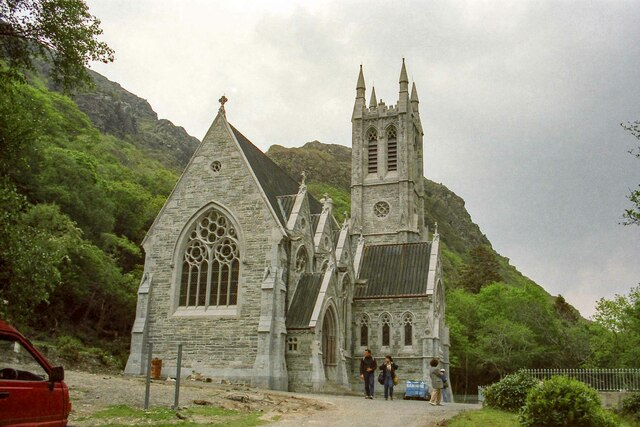 Kylemore Abbey Church, County Galway - May 1994