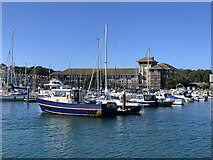 SY6778 : Weymouth Harbour by Jonathan Hutchins