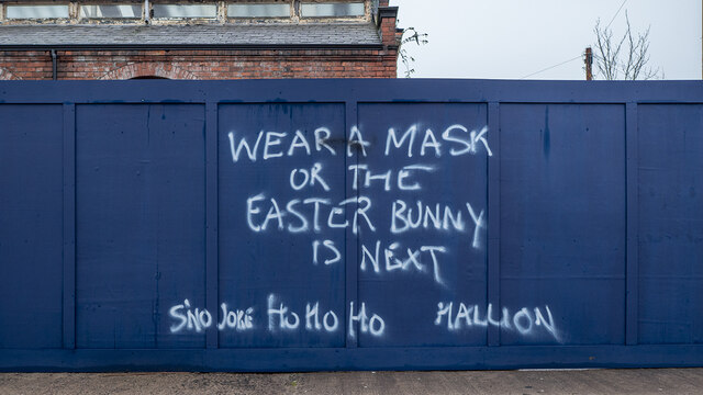 Graffiti, Belfast