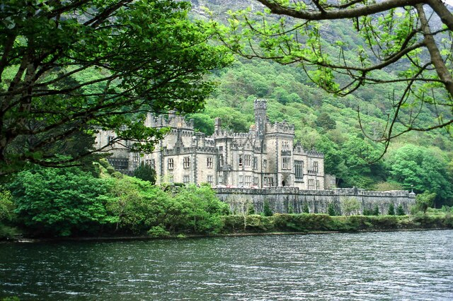Kylemore Abbey, County Galway - May 1994
