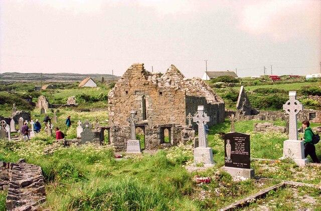 Na Seacht dTeampaill (The Seven Churches), Aran Islands