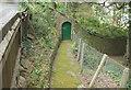 SX9363 : Door in wall near Kilmorie by Derek Harper