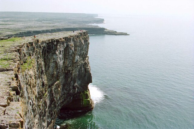 The Cliffs near Dún Aonghasa